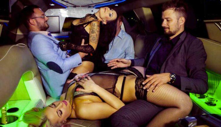 Striptease en limousine Belgique